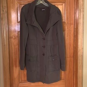 Light weight cotton trench coat
